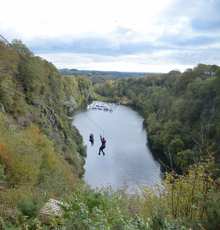 View Of Adrenalin Quarry