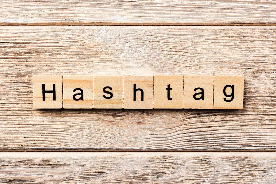 Bigstock Hashtag Word Written On Wood B 257095126